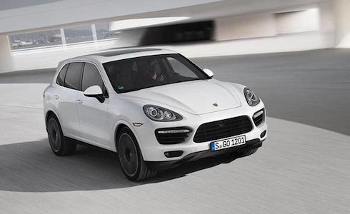 Car insurance for Porsche Cayenne Turbo S
