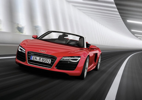 Car insurance for Audi R8 Spyder 2014