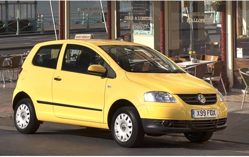 Volkswagen Fox, cheapest cars to insure