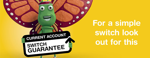 Learn more about the current account switch guarantee and see how it can help students find a bank account for them