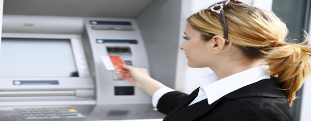 Credit card cash withdrawals